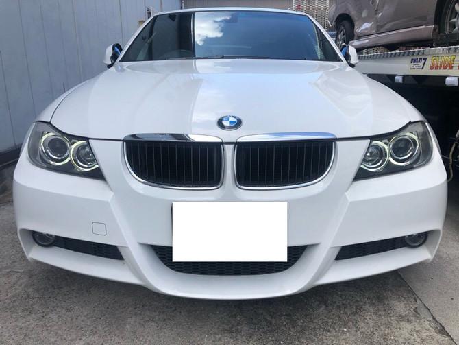 E90 BMW 3シリーズ デイライト化