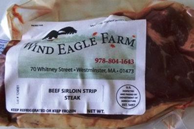 Sirloin Strip Steak  - $20.00 per lb.