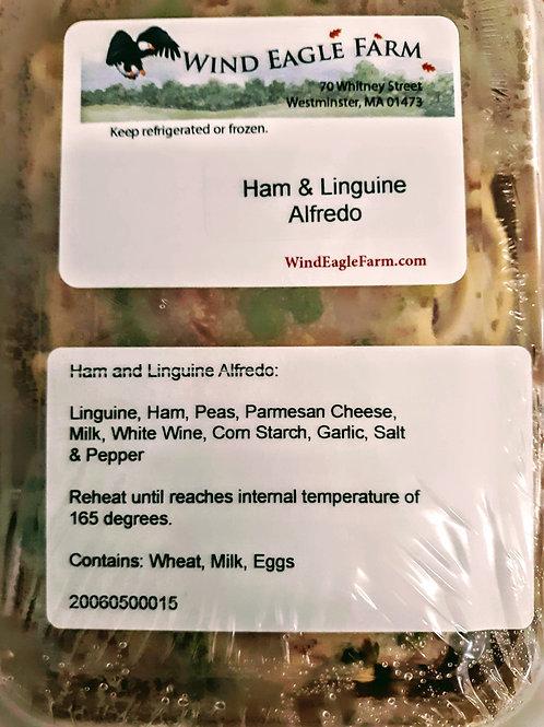 Ham & Linguine Alfredo
