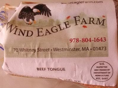 Tongue  -  $5.50 per lb.