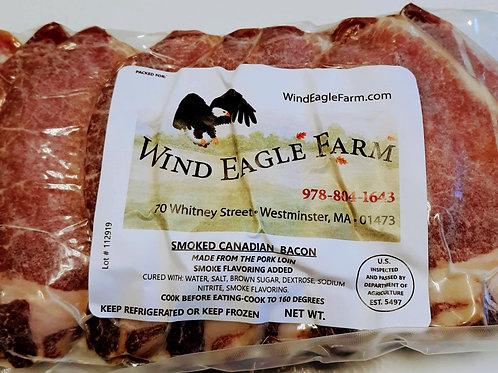 Smoked Canadian Bacon-$10.50 lb