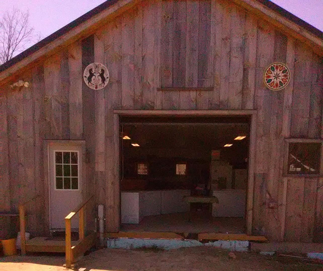 Farm Store in Barn