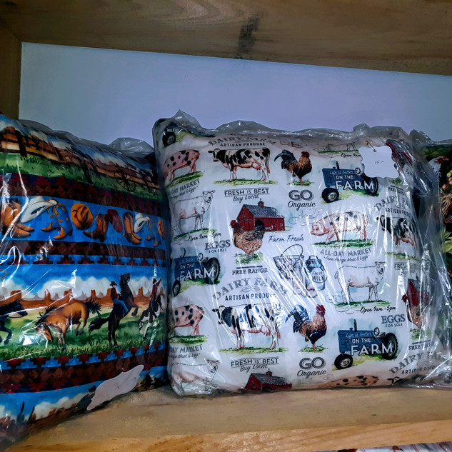 Lg. Country Scene Pillows