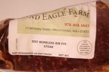 Delmonico/Rib eye Boneless - $18.00 per lb.