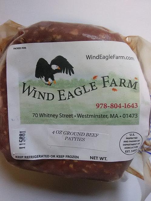 Ground Beef Patties- 4 oz.- $10.00
