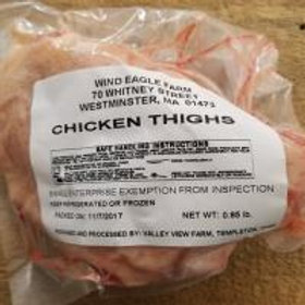 Thighs -$7.75 lbs
