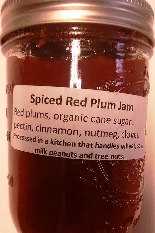 Spiced Red Plum Jam