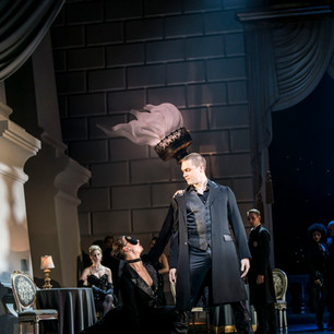Matthew Bourne's Swan lake performing with Max Westwell