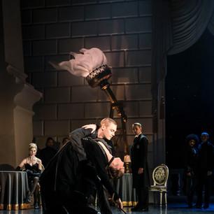 Matthew Bourne's Swan Lake performing alongside Max Westwell