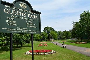 Open air theatre Queen's Park, Meols.