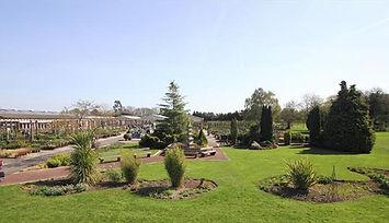 Open air theatre Gordale Garden Centre Wirral