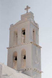 White Greek Chapel