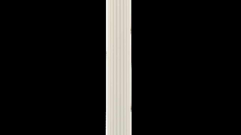 Column Pillar Candle - Cream White