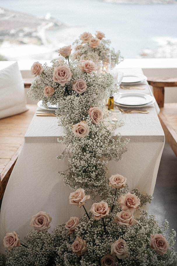 Table decor and floristry by The Isle