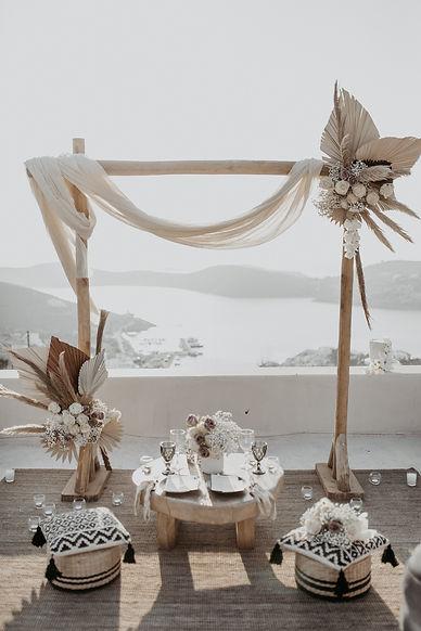 The Isle Elopement Wedding Styling