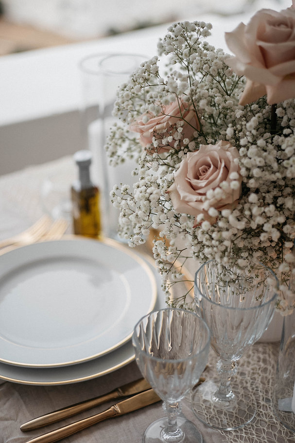 Tablescape styled by The Isle