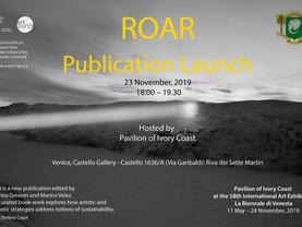 ROAR book launch at the Venice Biennale