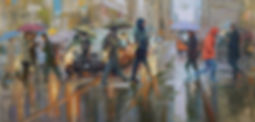 4. Rainy Day(24 x 48 ) Oil $3200.jpg