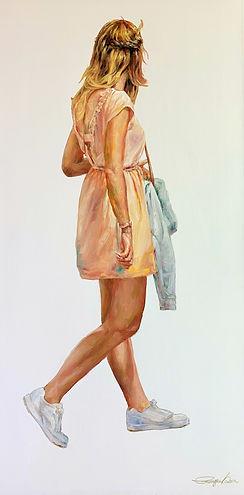 6 pink skirt (18x36) Oil.jpeg