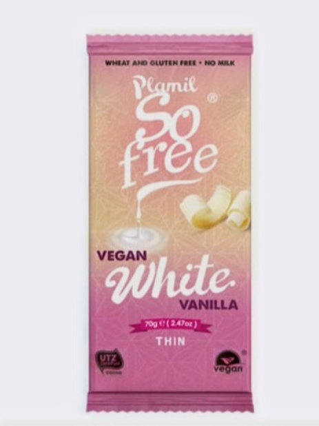So Free Vegan Thin White Bar - 70g