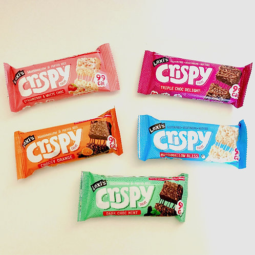 Lexi's Crispy Bar Bundle x 5