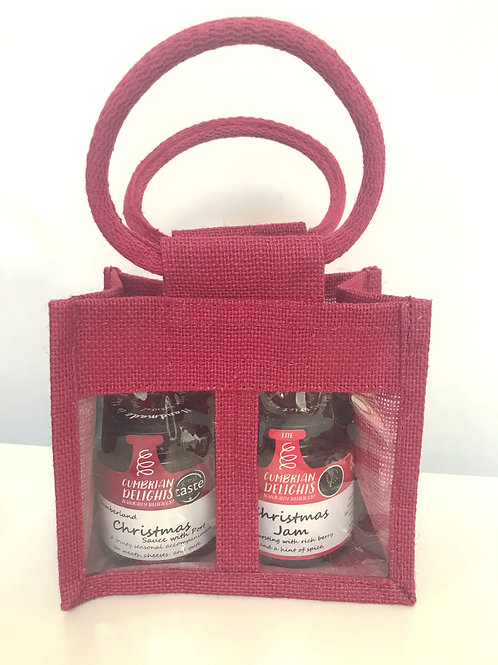 Cumbrian Delights Sauce Gift Bag