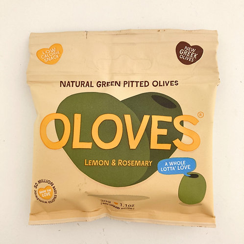 Oloves Lemon & Rosemary Olives - 30g