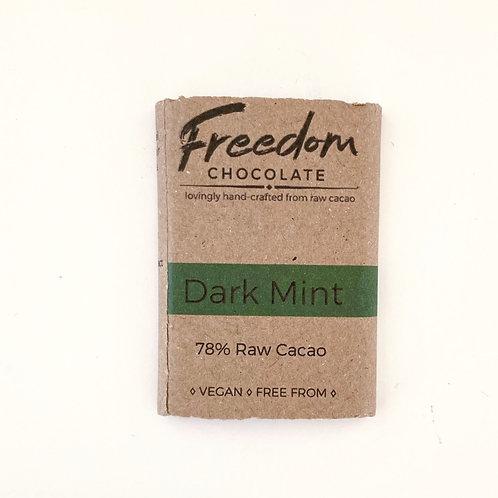 Freedom Chocolate Dark Mint Bar- 30g