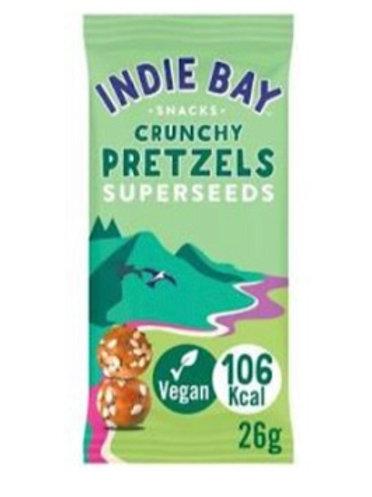 Indie Bay - Sunflower & Superseeds Pretzels bites