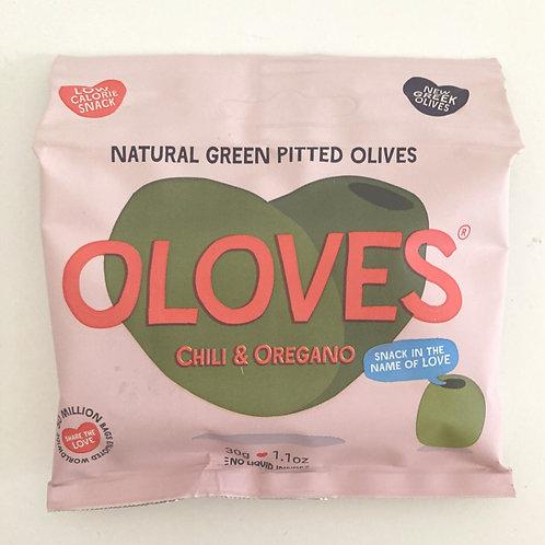 Oloves Chilli & Oregano Olives - 30g