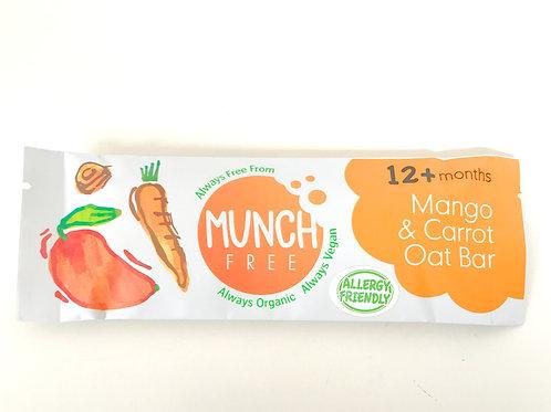 Munch Free Mango & Carrot Oat Bar 25g