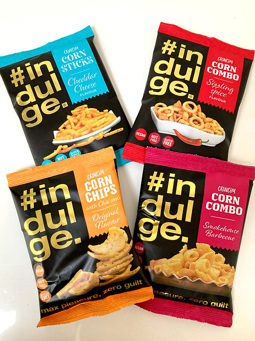#Indulge Snacks x 4 Flavours