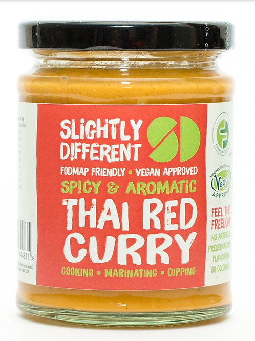 Slightly Different Thai Red Curry