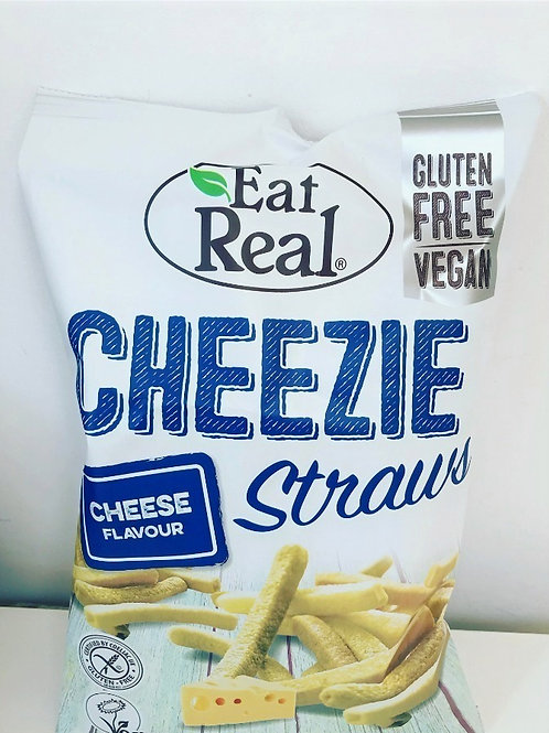 Eat Real Cheezie Straws 40g