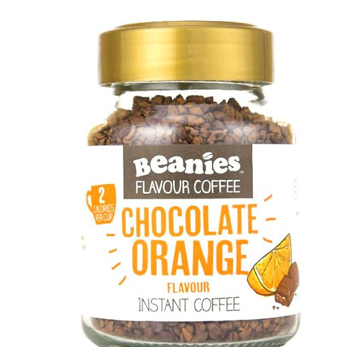 Beanies Chocolate Orange Flavoured Coffee ~ 50g