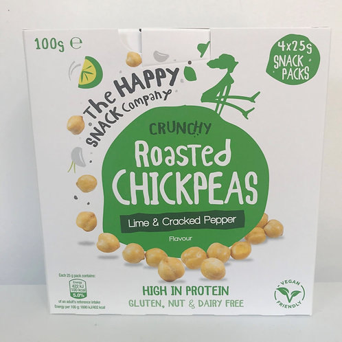 The Happy Snack Company Lime & Cracked Pepper Chickpeas