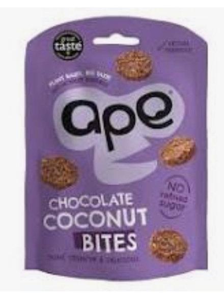 Ape Crunchy Chocolate Coconut Bites 30g