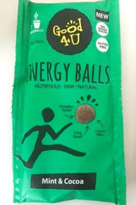 Good4U Mint Protein Balls 30g