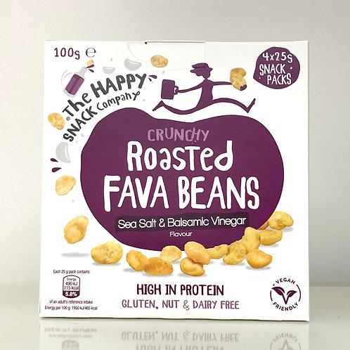 The Happy Snack Company Sea Salt & Balsamic Vinegar Roasted Fava Beans