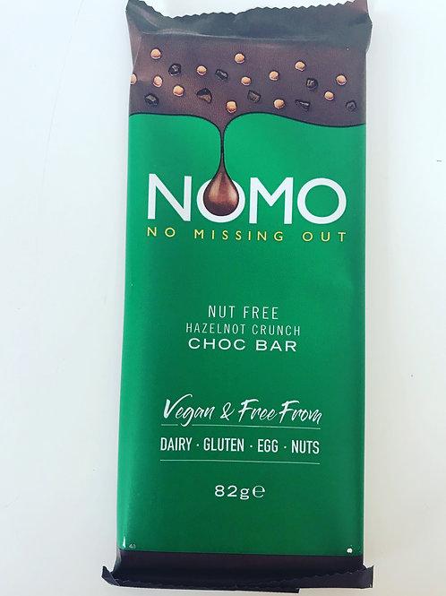 NOMO HazelNOT Crunch Bar
