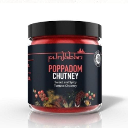 Punjaban Sweet & Spicy Poppadom Chutney - 225g