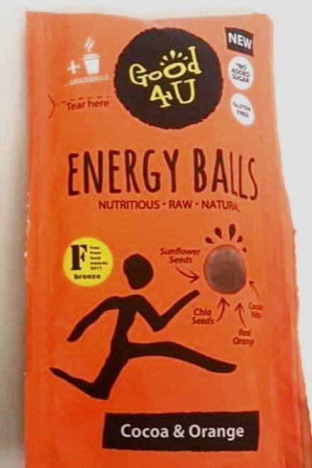 Good4U Cocoa & Orange Energy Balls 30g