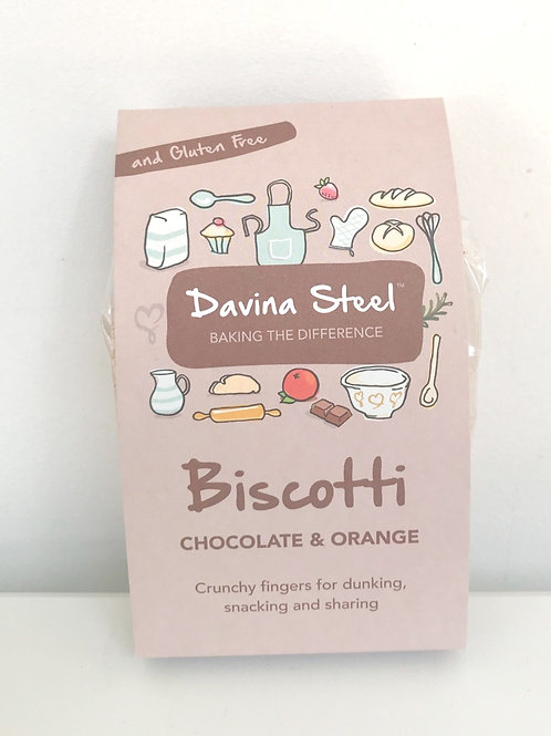 Davina Steel Chocolate & Orange Biscotti