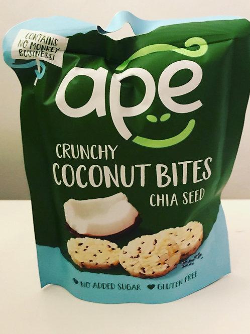 Ape Crunchy Coconut & Chia Seed Bites 30g