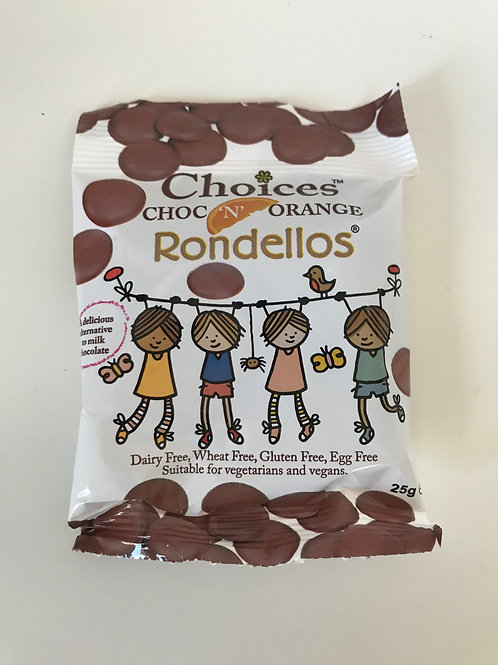 Choices Chocolate 'N' Orange Rondellos