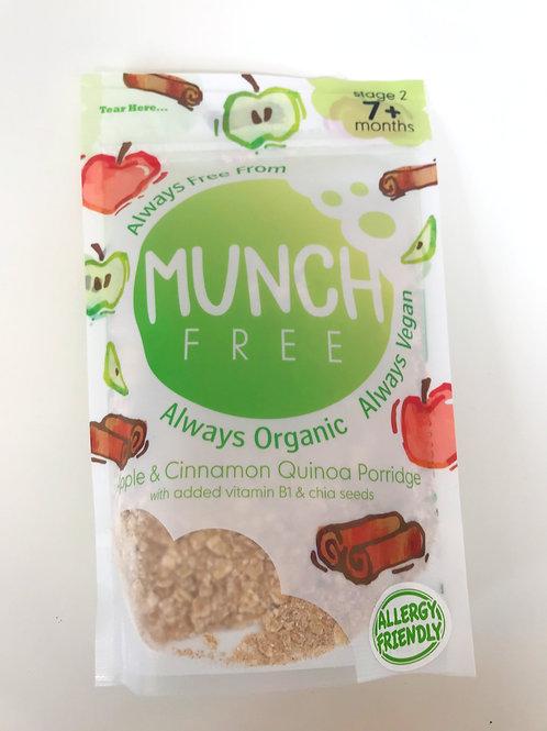 Munch Free Apple & Cinnamon Quinoa Porridge