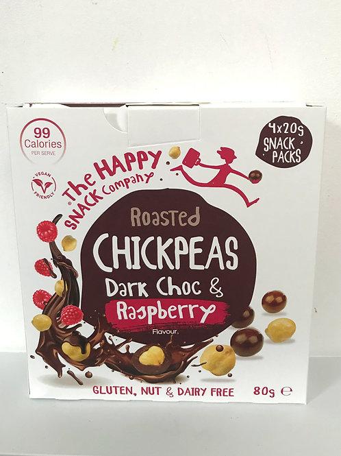 The Happy Snack Company Dark Chocolate & Raspberry