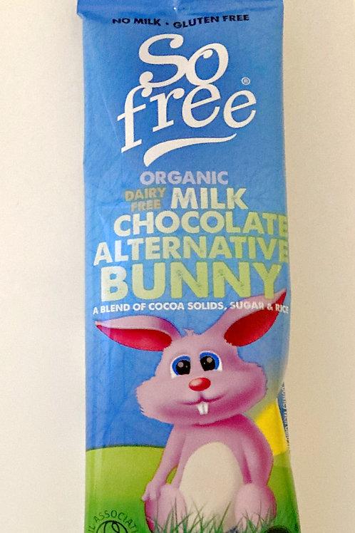 So Free Organic Alternative to Milk Chocolate Bunny Bar - 25g