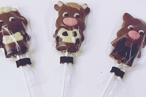 Belfine Farm Lollies - Cow, Pig & Sheep
