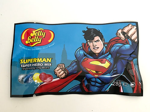 Jelly Belly Superman Super Hero bags - 28g